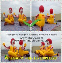 New double inflatable McDonald's cartoon characters balloons