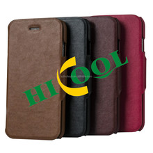 High quality PU mobile phone leather case for Iphone5/6,iphone6 plus