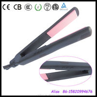 digital LCD display injection color professional power cord for hair straightener