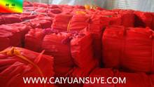 PE cheap red onion net bag packing onion potato