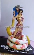 Venta al por mayor de 17.5cm Golden Edition serpiente hembra emperador Boa hankokku One piece anime Sexo juguetes de dibujos ani