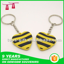 customized double sided key chains