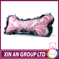 bone non toxic rubber dog toy for stock