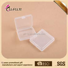 Multipurpose Clear Plastic storage Box to Organize Protect Display fragile Items