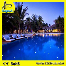 High quality waterproof end glow fiber optic fitting for pool