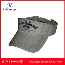 2015 hot sale new design wholesale cheap white sun visor caps