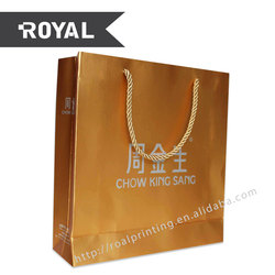 China supplier high quality custom shopping jewelry bag