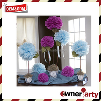 Party And Wedding New Design Paper Poms Decorations