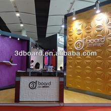 interior decoration 3-dimensional golden color bamboo wallpaper
