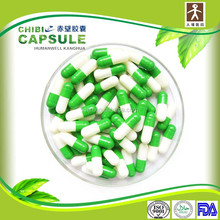 double color logo print empty hard pill capsule