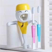 Tubo de crema dental embalaje, marcas pasta de dientes, cepillo libre del sostenedor pasta dental del apretón automático