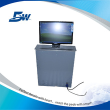 BW Pop Up Screen Elevator Remote Control/Motorized LCD Monitor Lift Mechanism For Office System