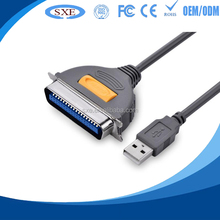 2015 china supplier USB to serial DB36 36Pin male Parallel Port printer Cable Adapter
