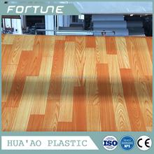 Hot sale top quality natural wood pvc vinyl floor waterproof pvc flooring