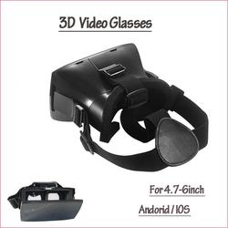 2015 new year recyclable plastic vr 3d glasses with CE&RoHS