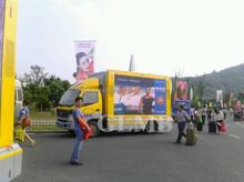 Outdoor mobile advertising ,digital advertising van ,LED display screen truck
