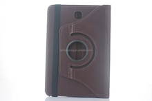 360 Degree Rotation smart Stand PU Leather Case Cover for samsung S2 T710