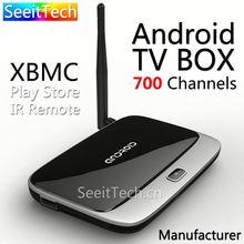 free sample wifi dual core tv box xbmc