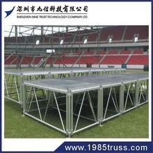 led stage plywood stage floor aluminum portable stage