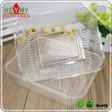 clear PET plastic disposable blister food tray,PET food grade clear fruit tray /pallet,Clear plastic food/fruit/vegetable packs
