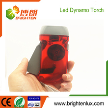 Factory Bulk Sale Handheld ABS Plastic White Light hand crank generator hand dynamo flashlight