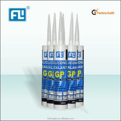 silicone adhesive sealant &glass glue