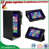 "New design Slim Flip Folio PU Leather Case Cover For Acer Iconia W4-820 8"" Tablet from china factory"