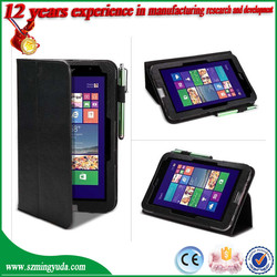 """New design Slim Flip Folio PU Leather Case Cover For Acer Iconia W4-820 8"""" Tablet from china factory"""