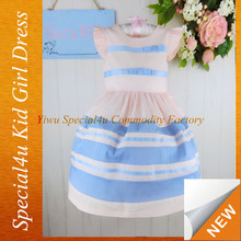 Summer Dresses Strips Design Fashion Simple Beautiful Dress for Infant and Toddler Girls LYD-226