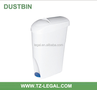 china online selling foot pedal recycle bin decorative dustbin lady toilet use