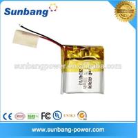 3.7v 170mah 602020 hot digital products lipo battery for camera pen