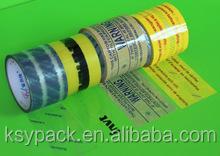 festival decorative bopp/opp transparent printed tape