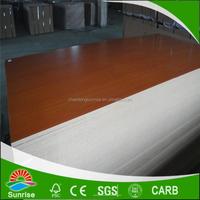 melamine paper coated mdf board sheets