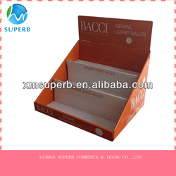 cardboard cosmetic display,display case,display