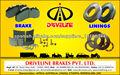 Driveline Brake Linings