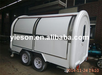 YS-FB200D High Quality Factory Direct-Sale hot dog cart for sale refrigerated trailers