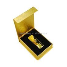 golden bar 4gb fancy customized gift usb flash drive