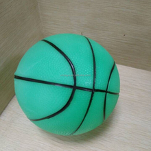 China supplier toy glowing ball, glow basketball for kids, kid's stress ball glow in the dark