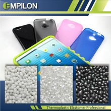 Phone case by TPR plastic granules compounds injection molding