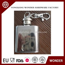 1oz mini stainless steel Hip flask
