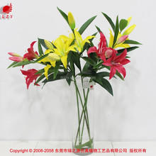 China artificial flower lily for Halloween home deor