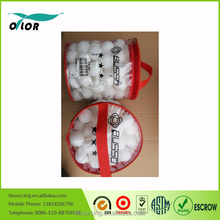 barreled packing Color good quality cheap plastic table tennis ball, ping pong ball wholesale