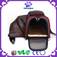 Portable foldable pet carrier for cat or dog