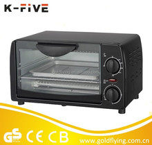 KMO09G-AB 9L electrical mini oven for baking cupcakes
