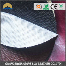 Factory made artificial pu leather for car seat