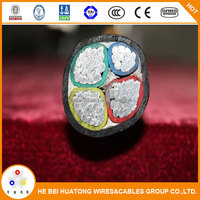 Unarmoured power supply cable with high performance