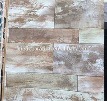 Madera de madera del papel de empapelar