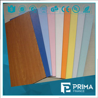 variety of colors 3mm compact laminate waterproof