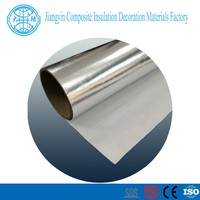 roof/attic wall surface protection fireproof insulation aluminum foil faced fiberglass cloth