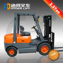 hot sale bulk cargo with small forklift